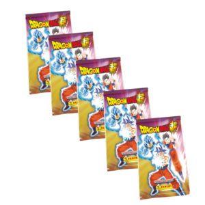 Panini Dragon Ball Super Trading Cards 5x Booster
