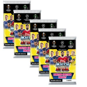 Topps Champions League 2021/2022 5x Booster