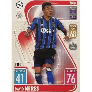 Topps Champions League 2021/2022 Nr 006 David Neres