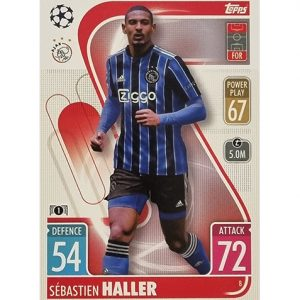 Topps Champions League 2021/2022 Nr 008 Sebastien Haller