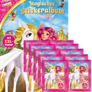 Mia and Me Sticker Album und 10x Stickertüten