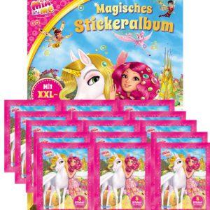 Mia and Me Sticker Album und 15x Stickertüten