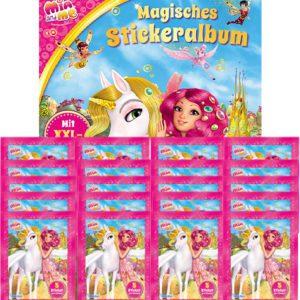 Mia and Me Sticker Album und 20x Stickertüten