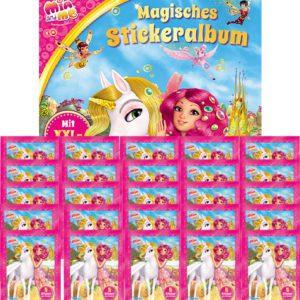 Mia and Me Sticker Album und 25x Stickertüten