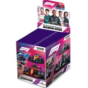 Topps Formula 1 Sticker 2021 Display