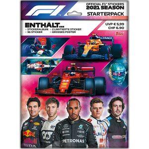 Topps Formula 1 Sticker 2021 Starterpack