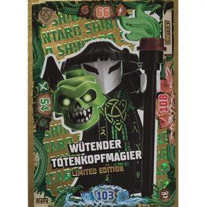 Lego Ninjago Serie 6 NEXT LEVEL Trading Cards LE 15 Wütender Totenkopfmagier