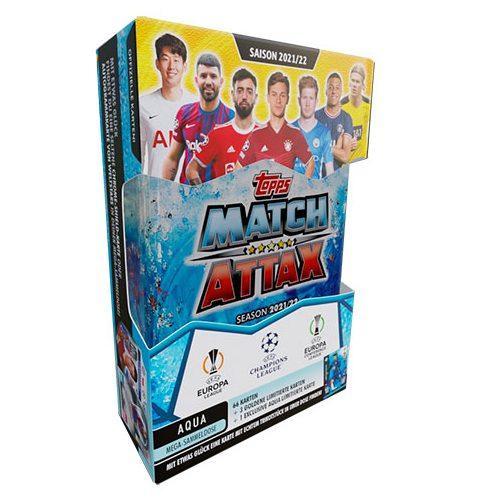Topps Champions League 2021/2022 1x Mega Tin Aqua