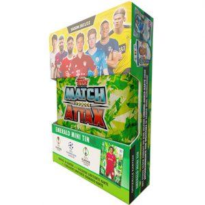 Topps Champions League 2021/2022 1x Mini Tin Emerald