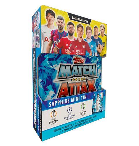 Topps Champions League 2021/2022 1x Mini Tin Sapphire