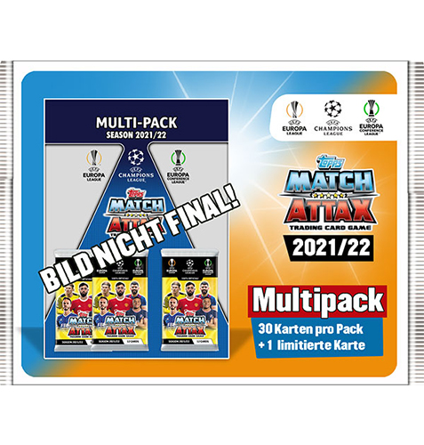 Topps Champions League 2021/2022 1x Multipack