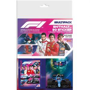 Topps Formula 1 Sticker 2021 Multipack