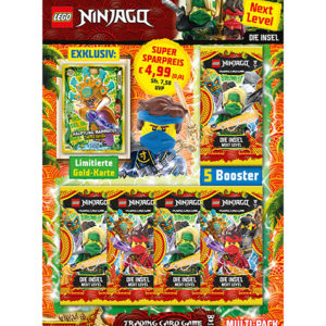Lego Ninjago Serie 6 NEXT LEVEL Trading Cards 1x Multipack