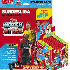 Topps Match Attax Bundesliga 2021/22 Starter Pack & Display