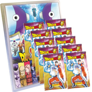 Panini Dragon Ball Super Trading Cards Starter Pack + 10x Booster