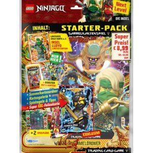 Lego Ninjago Serie 6 NEXT LEVEL Trading Cards Starterpack