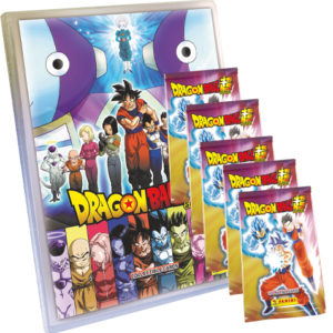 Panini Dragon Ball Super Trading Cards Starter Pack + 5x Booster
