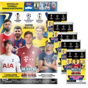 Topps Champions League 2021/2022 Starterpack + 5 Booster