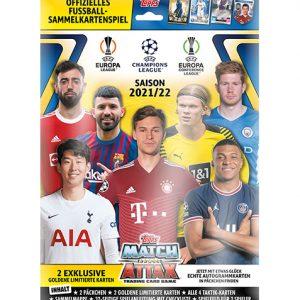 Topps Match Attax Champions League Starterpack 2021/2022