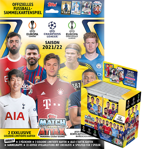 Topps Champions League 2021/2022 Starterpack + Display