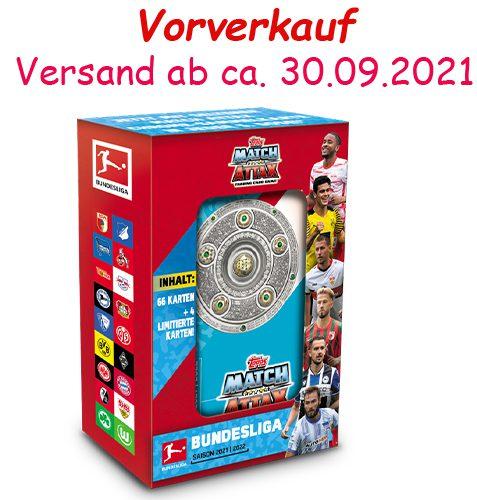Topps Match Attax Bundesliga 2021/22 MEGA-TIN