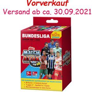 Topps Match Attax Bundesliga 2021/22 ToGo-Box