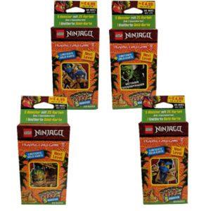 Lego Ninjago Serie 6 NEXT LEVEL Trading Cards alle 4 Blister