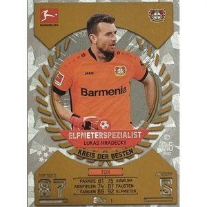 Topps Match Attax Bundesliga 2021/22 Nr 001 Lukas Hradecky