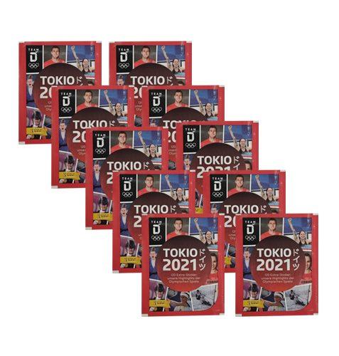 Panini Team Deutschland Teil 2 Tokio 2021 Sticker 10x Tüten