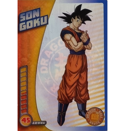 Panini Dragon Ball Super Trading Cards Nr 010 Son Goku