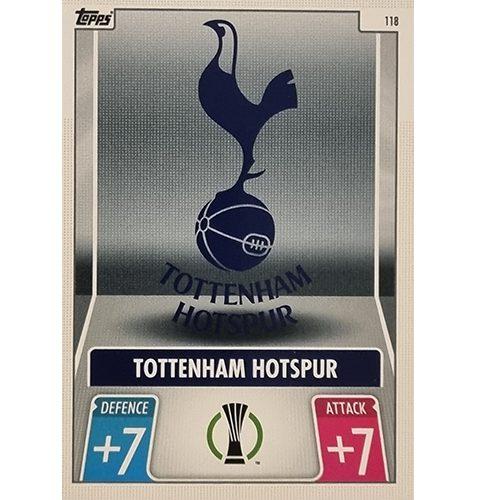 Topps Champions League 2021/2022 Nr 118 Tottenham Hotspur Team Badge