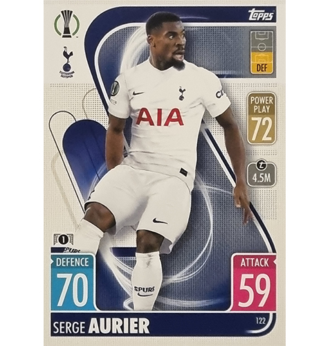 Topps Champions League 2021/2022 Nr 122 Serge Aurier