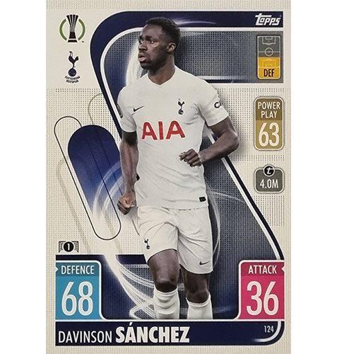Topps Champions League 2021/2022 Nr 124 Davinson Sanchez