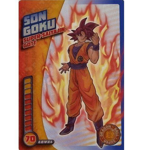 Panini Dragon Ball Super Trading Cards Nr 013 Son Goku Super Saiyajin Gott