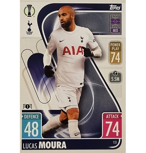 Topps Champions League 2021/2022 Nr 131 Lucas Moura