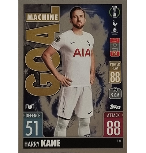 Topps Champions League 2021/2022 Nr 134 Harry Kane