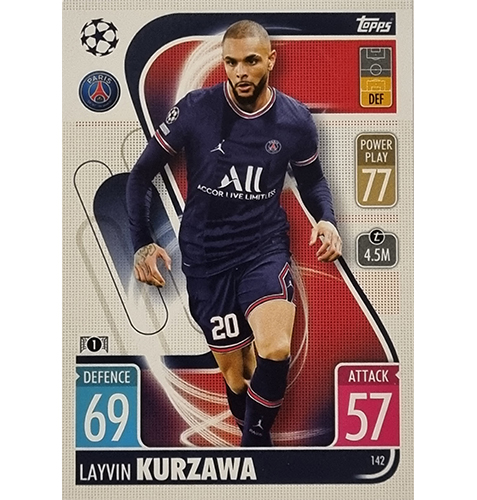 Topps Champions League 2021/2022 Nr 142 Layvin Kurzawa