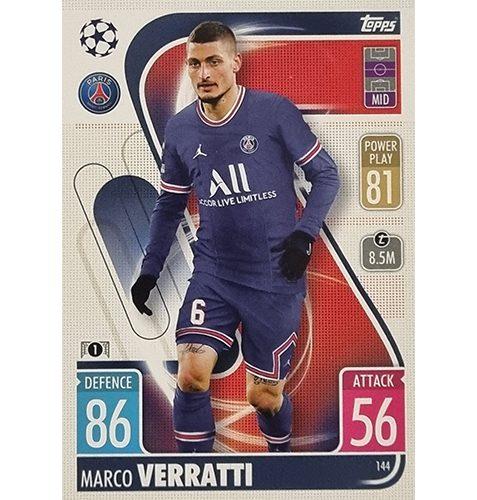 Topps Champions League 2021/2022 Nr 144 Marco Verratti
