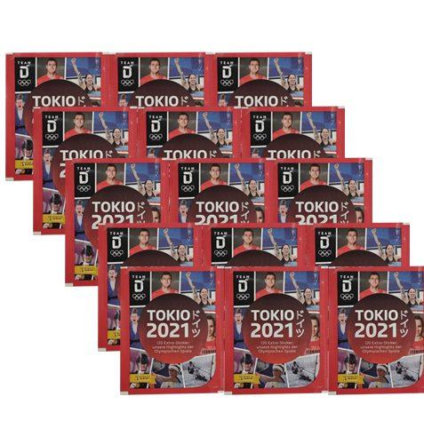 Panini Team Deutschland Teil 2 Tokio 2021 Sticker 15x Tüten
