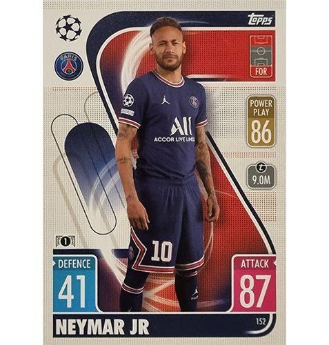 Topps Champions League 2021/2022 Nr 152 Neymar JR