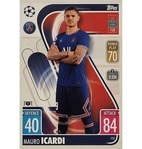 Topps Champions League 2021/2022 Nr 153 Mauro Icardi
