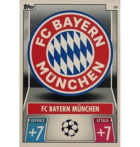 Topps Champions League 2021/2022 Nr 154 FC Bayern München Team Badge