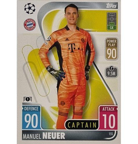 Topps Champions League 2021/2022 Nr 155 Manuel Neuer
