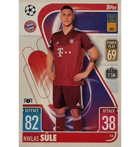 Topps Champions League 2021/2022 Nr 158 Niklas Süle