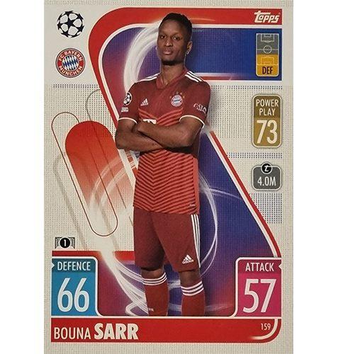 Topps Champions League 2021/2022 Nr 159 Bouna Sarr