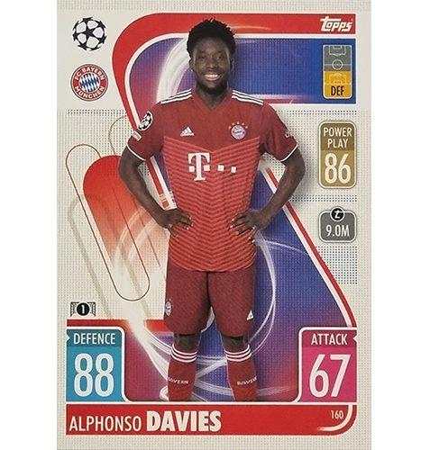 Topps Champions League 2021/2022 Nr 160 Alphonso Davies