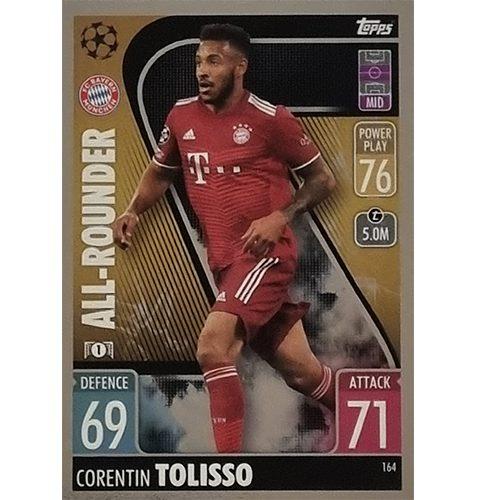 Topps Champions League 2021/2022 Nr 164 Corentin Tolisso