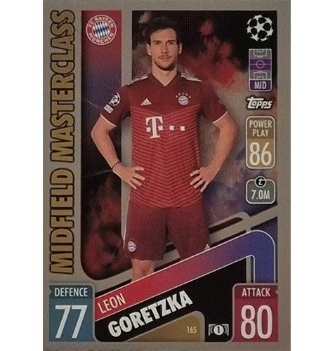 Topps Champions League 2021/2022 Nr 165 Leon Goretzka