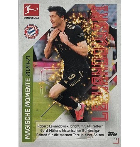 Topps Match Attax Bundesliga 2021/22 Nr 017 Robert Lewandowski