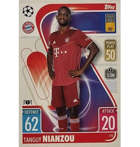Topps Champions League 2021/2022 Nr 170 Tanguy Nianzou